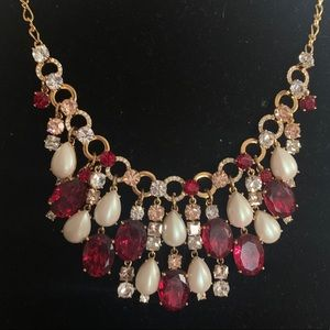 ❤️✨KATE SPADE Ruby & Pearl Necklace✨❤️